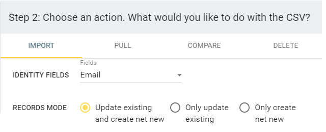 update create new append